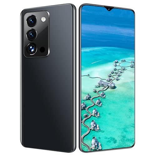 LIZONGFQ 2021 5G RINO7 Pro 7.0'6800mAh 16GB + 512GB Android 11 Dual Sim + SD Qualcomm88 Face Unlock 32 + 50MP Global Smartphones,Negro