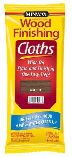 Minwax Wood Finishing Cloths 308230000, Walnut