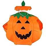 Générique Vêtements Unisexe Fancy Dress Pumpkin Outfit pour Halloween Costume Party,...