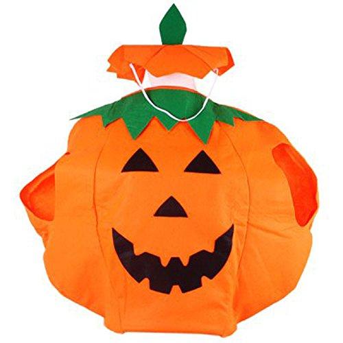 Générique Vêtements Unisexe Fancy Dress Pumpkin Outfit pour Halloween Costume Party, citrouille d'Halloween cosplay costume combis pour Masquerade Décoration (Adultes)