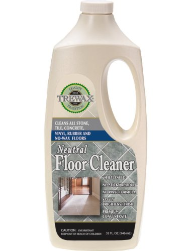 Trewax Professional Gold Label Concentrated Neutral Floor Cleaner, 32-Fluid Ounce, Pack of 3