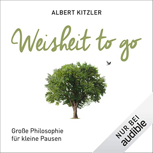 Weisheit to go audiobook cover art