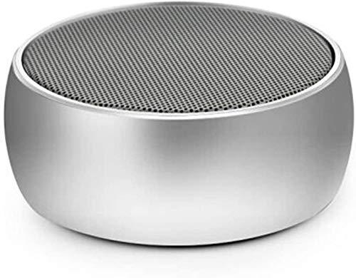 Mopoq Drahtlose Bluetooth-Lautsprecher - bewegliche Mini-Karte Kleiner Ton Metall Kanone Subwoofer-Computer Externer Musik-Player-Auto-Lautsprecher (Color : B)