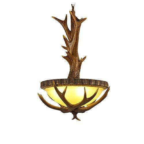 YSH Kronleuchter/Deckenleuchten/Lampe, Kronleuchter Aus Holz, Restaurant Bar Lampen Und Laternen Der Beleuchtung Kronleuchter Kreative Retro Kaffeekanne Aufgehängt E14 Glasharz Engineering Light