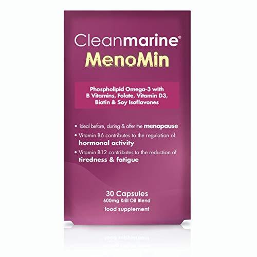 Cleanmarine MenoMin Capsules, 30 Capsules