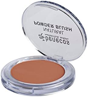 Benecos Natural Powder Blush (Toasted Toffee), Balanced and Matte Complexion, Kaolin Clay and Natural Minerals - Organic Makeup & Skin Care Cosmetics