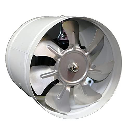MIAOKU Extractor de Aire Conducto Ventilador de conducto en línea Ventilador de Aire Extractor de Aire Baño Aseo Ventilador Industrial de Pared, 4 Pulgadas