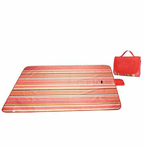 Lozse Tapis extérieur imperméable à l'eau de Pique-Nique Tapis de l'humidité du Tapis de Pique-Nique de Camping résistant à l'usure 150x180cm épais Tapis de Tente Coussin