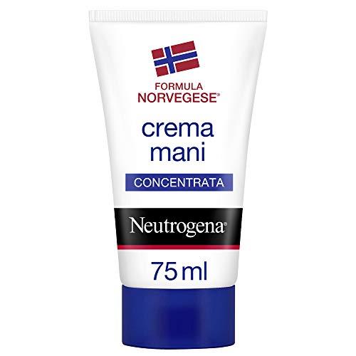 Neutrogena Crema Mani, Formula Norvegese, Sollievo Immediato, Mani Screpolate e Secche, Profumata, 75 ml