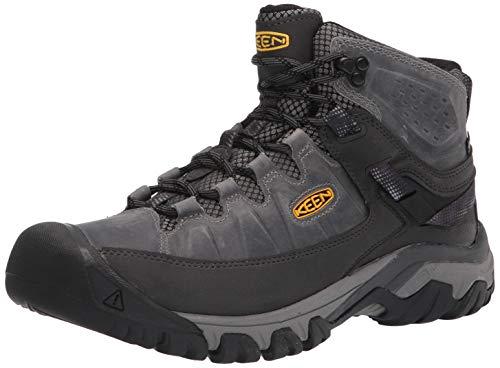 KEEN Herren Targhee 3 Mid Wp Hiking Boot, Drizzle Yellow, 44 EU
