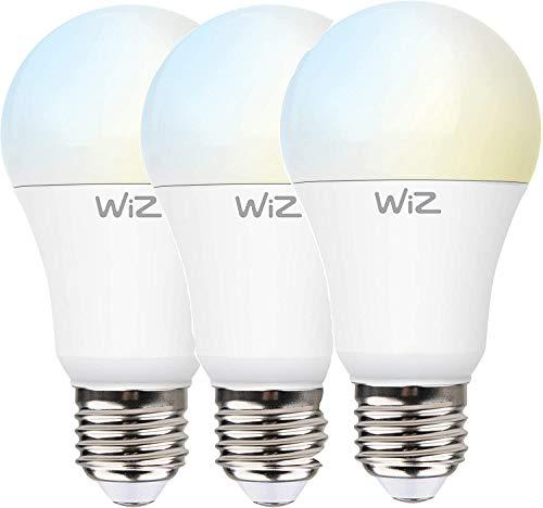Sparpack 3er Pack WiZ G2 weiss variabel A60 E27 Smart LED Leuchtmittel Dimmbar, WLAN, lm810, App & Voice Control Alexa, Siri, Google & IFTTT