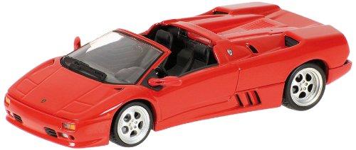 Minichamps 1/43 Scale 400 103580 - 1994 Lamborghini Diablo Roadster - Red