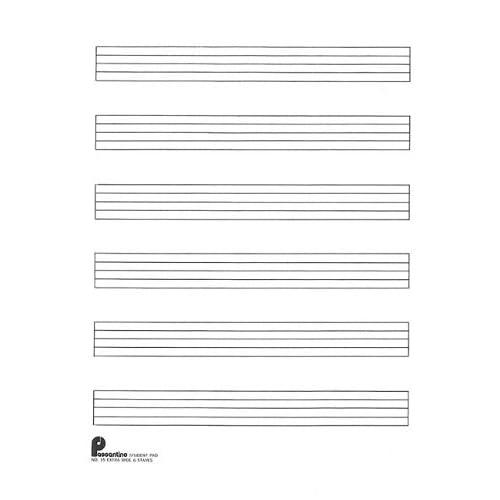 manuscript paper for music