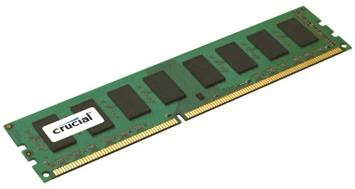 Crucial CT12864BA1339 PC1333 Arbeitsspeicher 1GB 1333 MHz 240 polig CL90 DDR3 RAM Kit