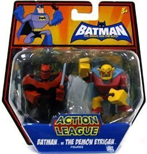 punto de venta DC Batman Brave and and and the Bold Action League Mini Figure 2Pack Batman Vs. The Demon Etrigan by DC  compras en linea