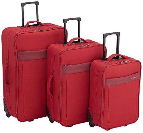 Saxoline Set di valigie 310050.01.35 Rosso 181.0 liters