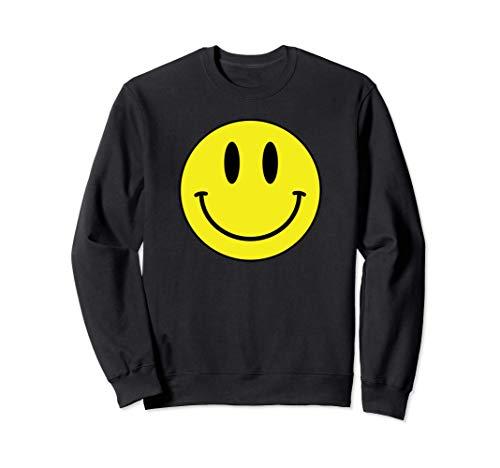 Classic Smile print Retro 80s Smilie Acid House Emoticon Sudadera