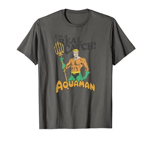 Aquaman Real Catch Camiseta