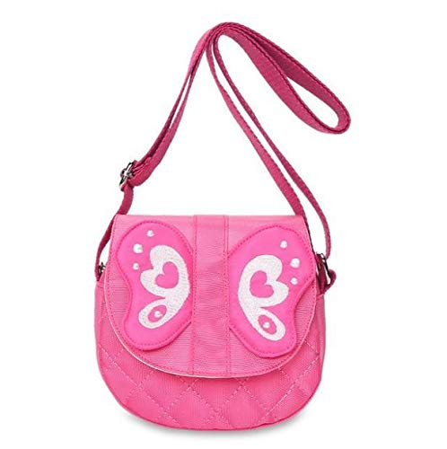 Da.Wa Messenger Bag Kindergarten Baby Diagonal Bag Cute Cartoon Butterfly Child Bag Mini Messenger Mag Satchel Bag Accessories Coin Purse 14x5x15cm