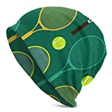 Sunny R Gorro de Tenis Azul y Verde Gorro Gorro Gorras de In