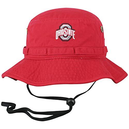 Top of the World Ohio State Buckeyes Men's Adjustable Team Icon Bucket Hat, Adjustable