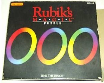 Matchbox Rubik's Magic Puzzle Link The Rings by Matchbox