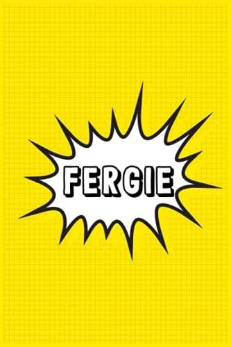 Fergie: Personalized Name Fergie Notebook, Gift for Fergie, Diary Present Idea