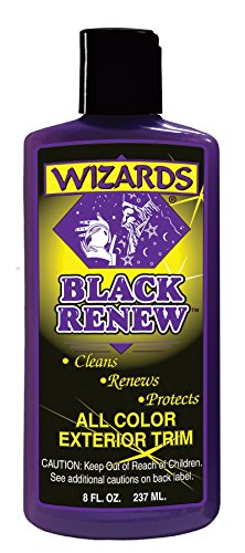 Wizards 66309 Black Renew Exterior Trim Treatment - 8 oz.
