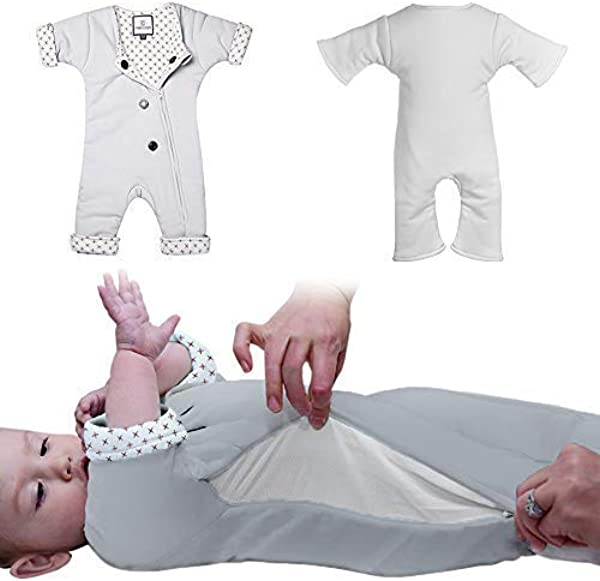 Baby Sleep Suit With Adjustable Ventilation For Infants 3 7 Months Or 12 21 Lbs For Transitioning Your Infant From Swaddling Soft Sleepsuit Allows Baby To Move Wearable Swaddle Blanket For Babies