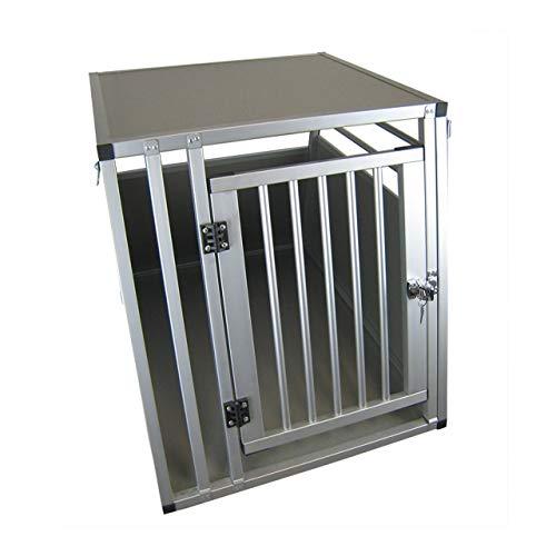 ACMax XXL Hundebox Transportbox Aluminium 92 x 65 x 66cm Hundetransportbox Gr XXL