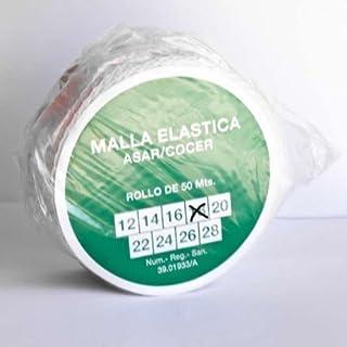alesframa Malla elástica para Carne, Rollo de 50 Metros (