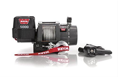 WARN 99963 5000 DC Series 12V Electric Winch, Bl