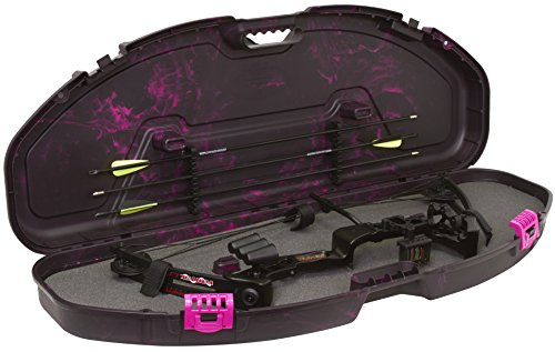 Plano Fusion Bow Case, Pink, Small