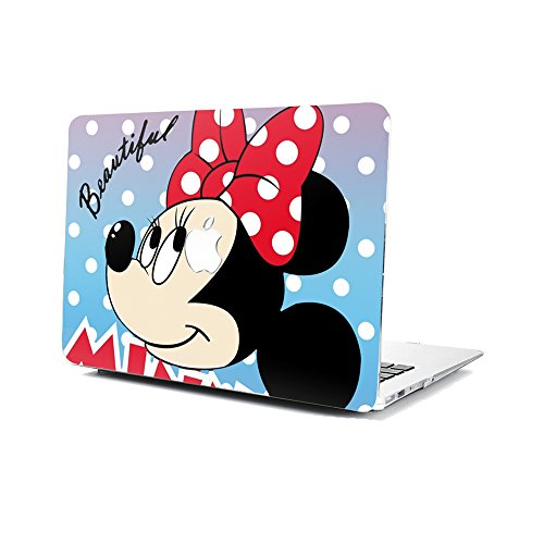 GSPSTORE MacBook Air 13 Inch Case,Mickey and Minnie Cartoon Hard Shell Protector Cover for MacBook Air 13' Model A1369/A1466#03