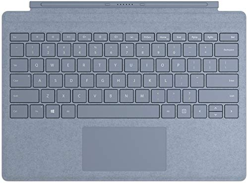 Microsoft Surface Pro Type Cover QWERTZ Keyboard eis blau