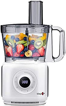 Magiccos 14 Cup Digital LCD Food Processor with 7 Variable Speeds
