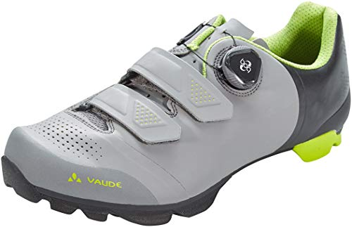 VAUDE Unisex MTB Snar Advanced Mountainbike Schuhe, Anthracite, 42 EU