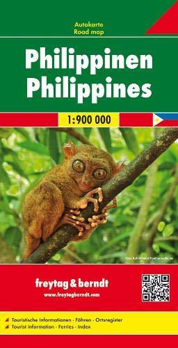 Philippinen, Autokarte 1:900.000: Wegenkaart 1:900 000 (freytag & berndt Auto + Freizeitkarten)