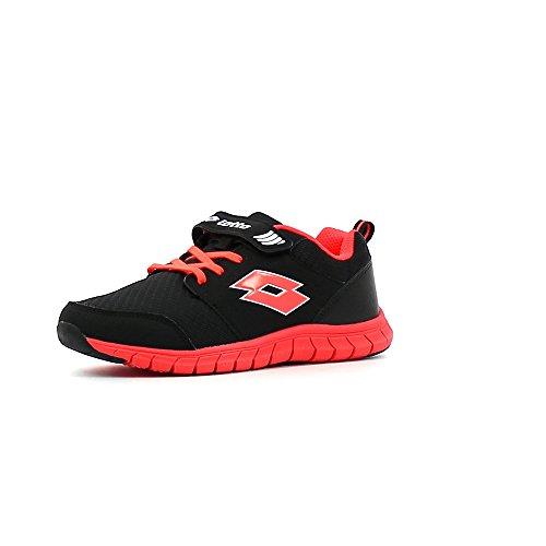 Lotto Spacerun II CL SL, Zapatillas de Running Unisex niños, Negro (Blk/Crl DIV), 28 EU