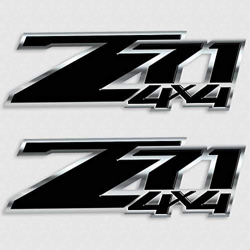 Decals Z71 Black Silverado 4x4 Sticker Set