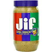 Jif Extra Crunchy Peanut Butter, 96 Ounce