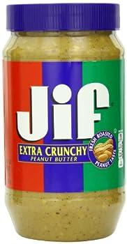 Jif Extra Crunchy Peanut Butter 96 oz