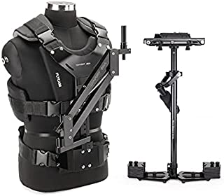 FLYCAM HD-5000 Camera Steadycam Stabilization System with Comfort Arm and Vest for DSLR Cameras Upto 5kg | Table Clamp Qui...