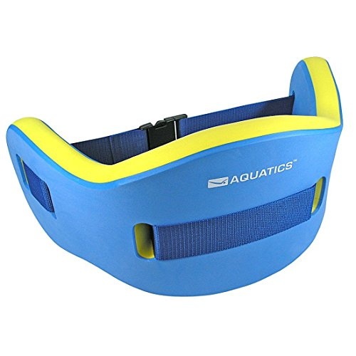 Aquatics Schwimmgürtel Aqua Jogging Belt, Blau/Gelb, 49036
