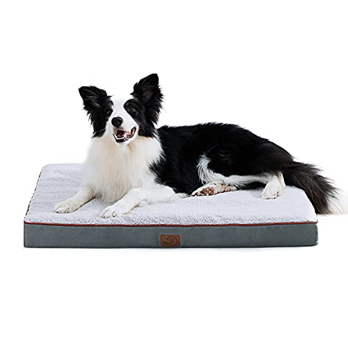 Bedsure Large Dog Bed for Large Dogs Up to 75lbs - Big Orthopedic Dog Beds