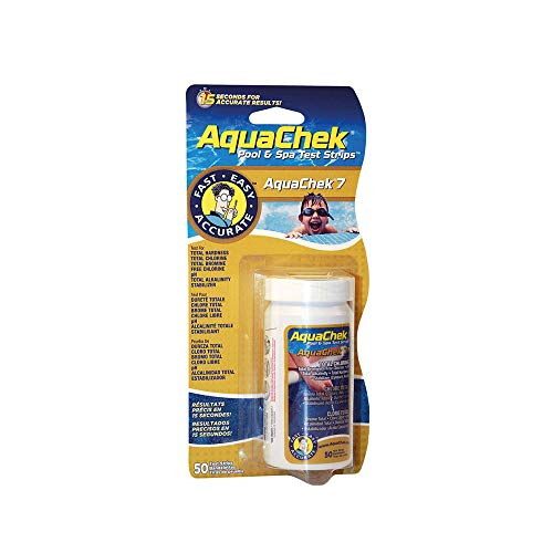 AquaChek 7 Fonctions 50 Bandes de Analyse de l'eau