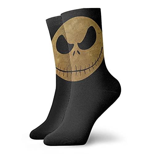 Calcetines de pesadilla antes de Navidad, transpirables, flexibles, agradables al tacto, informales y de moda, muy suaves y cómodos calcetines de algodón