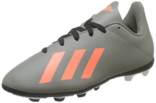 adidas Jungen X 19.4 Fxg J Fußballschuhe, Grün (Legacy Green/Solar Orange/Chalk White Legacy Green/Solar Orange/Chalk White), 35 EU