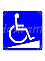 「車椅子スロープマーク」 ティンメタルサインクリエイティブ産業クラブレトロヴィンテージ金属壁装飾理髪店コーヒーショップ産業スタイル装飾誕生日ギフト