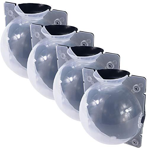 LANUCN Propagatori Alta Pressione Palla da Riproduzione Vegetale Germinazione-Semitrasparente (4 Pezzi x Diametro 12 cm)
